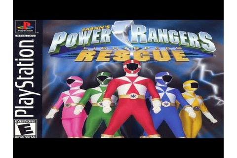 Power Rangers Lightspeed Rescue Game Review (2000) (PS1 ...