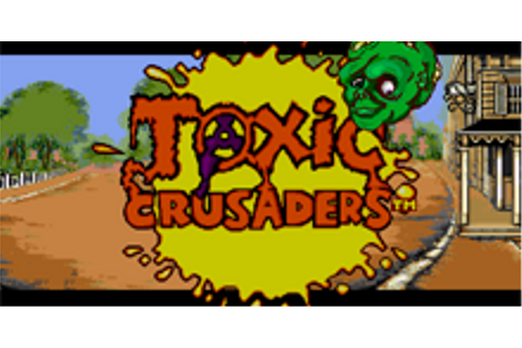 Toxic Crusaders Download Game | GameFabrique