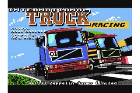 International Truck Racing game ending by Zeppelin Games ...