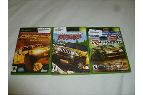 XBOX GAME LOT RALLISPORT CHALLENGE TEST DRIVE OFF-ROAD ...