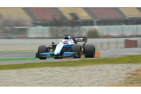 F1 pre-season testing: George Russell gives delayed ...