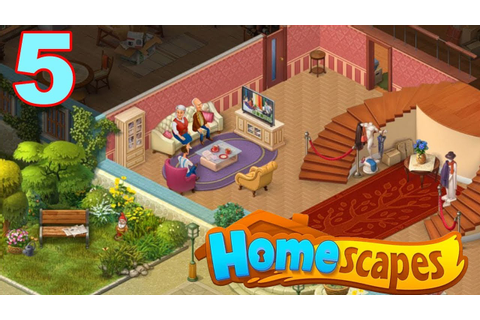 Homescapes Story Walkthrough - Part 5 Gameplay - Unpacking ...