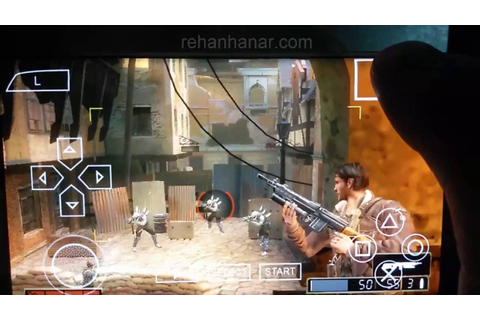 Resistance Retribution game in Samsung Galaxy S7 Edge PSP ...