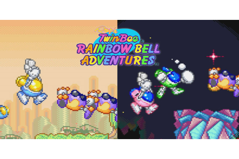 Pop'n TwinBee Rainbow Bell Adventures | Super Nintendo ...