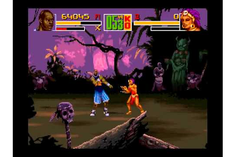 Shaq-Fu (SNES) - YouTube