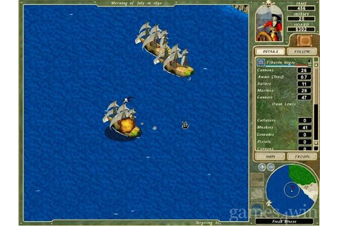 Cutthroats: Terror on the High Seas Download on Games4Win