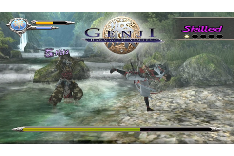 PCSX2 Emulator 1.5.0-1674 | Genji: Dawn of the Samurai ...