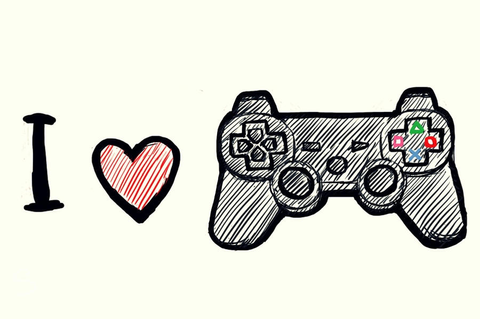 I Love Video Games by cocodie on DeviantArt