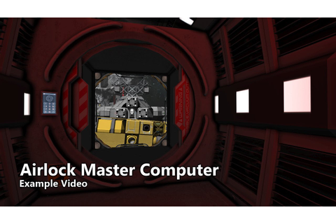 Airlock Master Computer Example - Space Engineers Script ...