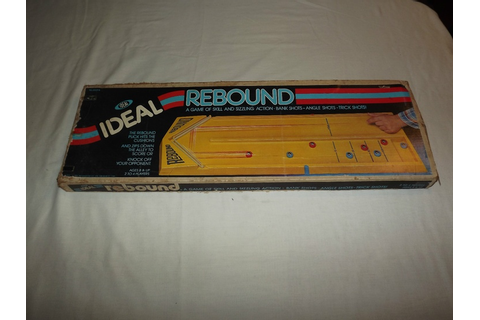REBOUND BOARD GAME | Nurd | Pinterest