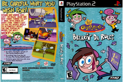 The Fairly ODD Parents Breakin Da Rules | Covers Games
