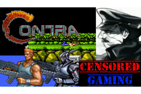 Contra/Probotector (Series) Censorship - Censored Gaming ...