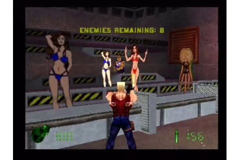 Let's Play Duke Nukem: Land of the Babes (PS1) Part 1 ...