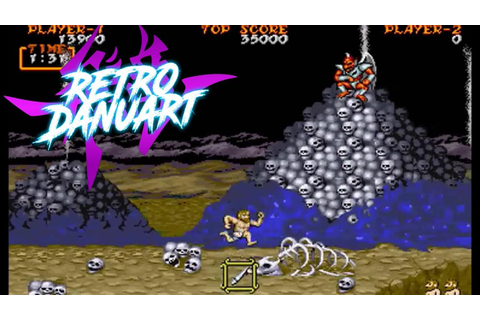 Ghouls'n Ghosts (Arcade) [Capcom] - YouTube