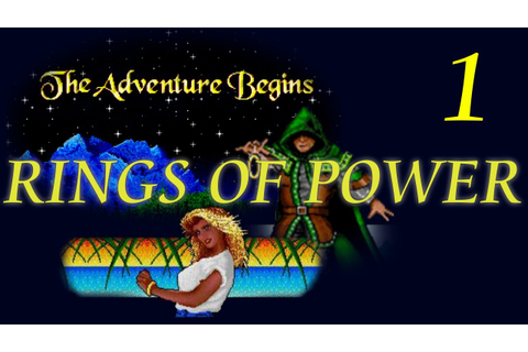 Let's Play Rings of Power 1 - Beginnings and lamentations ...