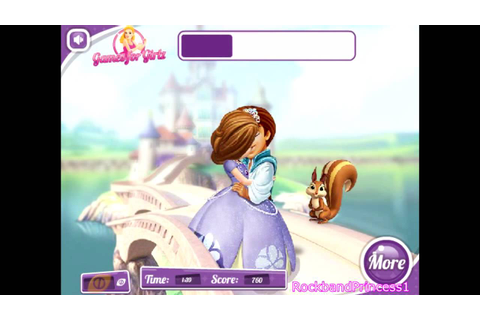 Princess Kissing Games For Girls - Sofia's First Kiss ...