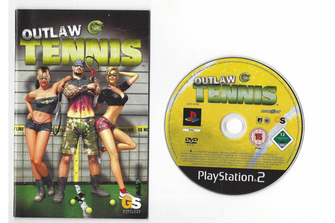 Outlaw Tennis for Playstation 2 PS2 - worldwide shipping ...