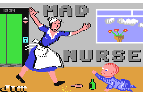 Mad Nurse (1986) by Firebird C64 game