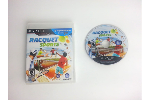Racquet Sports game for Playstation 3 | The Game Guy
