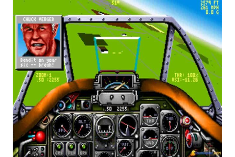 Chuck Yeager's Air Combat download PC
