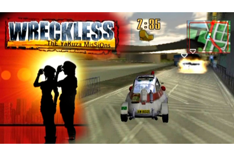 Wreckless: The Yakuza Missions ... (PS2) - YouTube