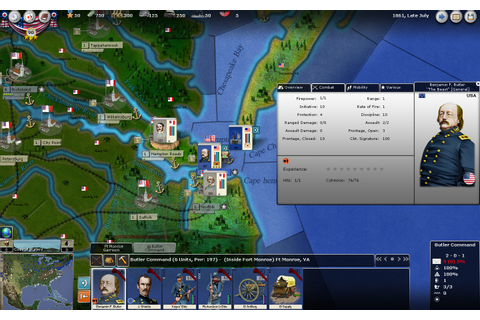 Real and Simulated Wars: AGEOD's Civil War II - Preview