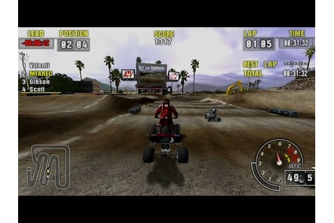 ATV Offroad Fury Pro Gameplay Championship (PSP) - YouTube