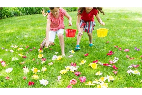 Outdoor games for kids: Flower power | Newsday