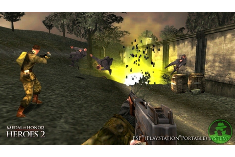 Medal of Honor - Heroes 2 [USA] | PSP Indo™