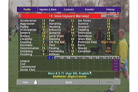 Screens: Championship Manager Season 02/03 - Xbox (7 of 15)