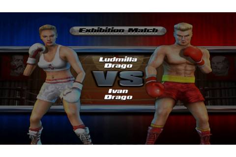 Rocky Legends - Play As Ludmilla Drago (PS2) - YouTube