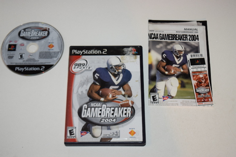 NCAA Gamebreaker 2004 Playstation 2 PS2 Video Game ...