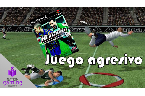 REDCARD Same Game Diferent Rules PS2 Gameplay español ...