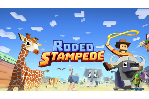 Rodeo Stampede - Sky Zoo Safari (iOS/Android) Gameplay HD ...