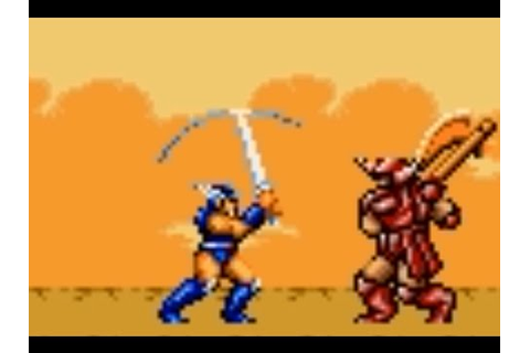 Ax Battler: A Legend of Golden Axe (Game Gear) Playthrough ...