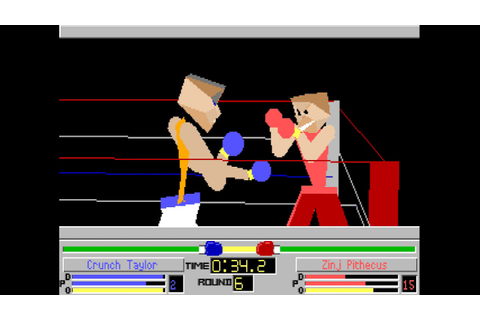 Amiga 500: 4D Sports Boxing by Mindscape (1991) - YouTube