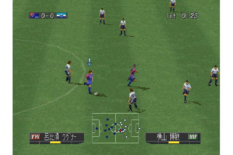 J.League Jikkyou Winning Eleven 2001 (2001) by Konami PS game