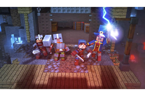 Meet 'Minecraft: Dungeons,' an adventure game with online ...