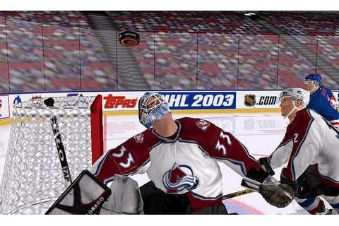 Pattern / NHL 2003 full game f :: COLOURlovers