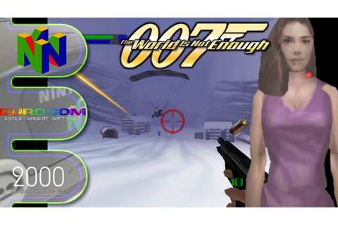 007 The World is not Enough - N64 - YouTube