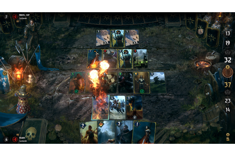 Gwent: The Witcher Card Game is more than simple fan service