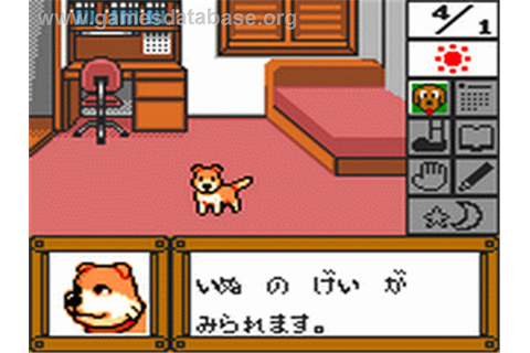 Pet Club Inu Daisuki - Sega Game Gear - Games Database