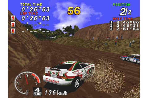 Download Sega Rally Championship (Windows) - My Abandonware