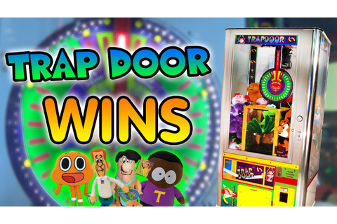 TRAP DOOR Wins! - Arcade Prize Game - YouTube
