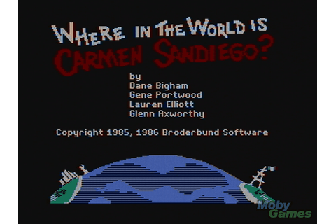 Download Where in the World is Carmen Sandiego? - My ...