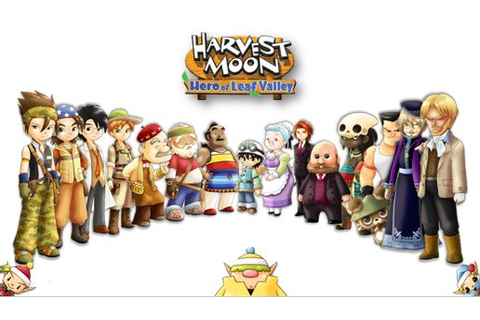 Characters (HoLV) | Harvest Moon Wiki | FANDOM powered by ...