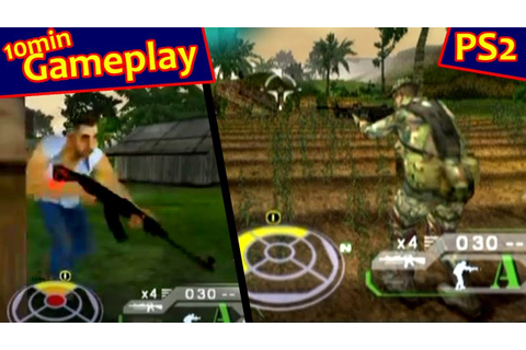 Tom Clancy's Ghost Recon: Jungle Storm ... (PS2) - YouTube