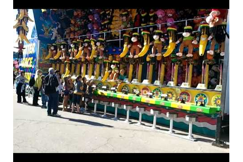 Water race game nc state fair - YouTube