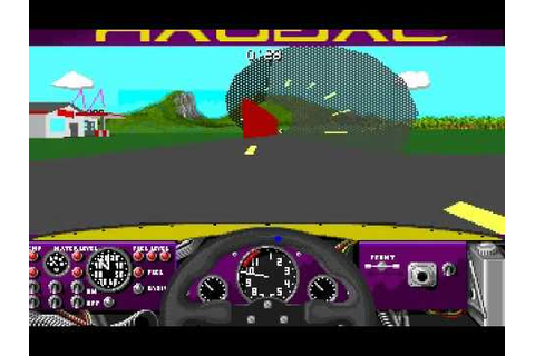 Dos Games: 4D Sports: Driving (AKA: Stunts) - YouTube