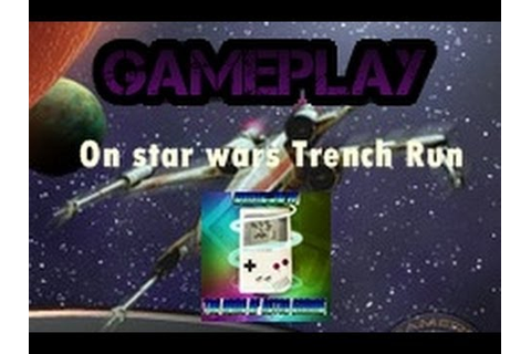 Star Wars Trench Run Game - YouTube